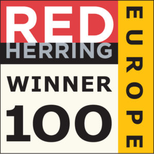 We're a Red Herring Europe Winner