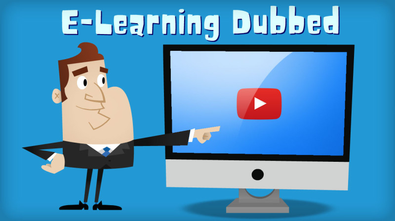 Automatic dubbing of e-learning, e-training and courses videos